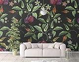 Fototapete selbstklebende Tapeten Wohnzimmer Schlafzimmer Tapeten Wandbilder Wanddeko Obstpflanze 430cmx300cm