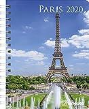 Paris 2020 Diary - Buchkalender - 16,5x21,6cm -  Taschenkalender - Wochenplaner - Diary - Städtekalender -