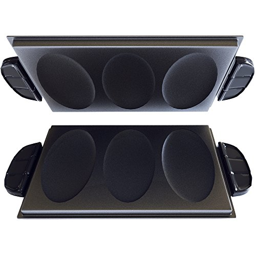 george-foreman-gfp84op-evolve-grill-3-serving-omelet-and-snack-plate-accessory-set-black-by-george-f