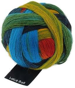 Schoppel-Wolle Lace Ball 1564bedr frische Fische VE: 100g