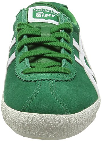 Onitsuka Tiger Mexico Delegation, Sneakers Basses Unisexe adulte Vert - Green (Green/White 8401)