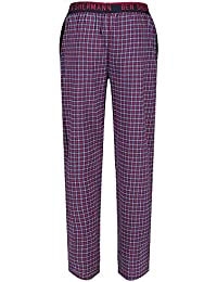 Ben Sherman Men s Woven Lounge Wear Pyjama Trouser Bottoms Pants Navy  Beetroot Grey Check Bardof 9c2da171b