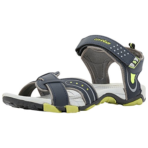 Lotto Men's Grey Lime Sandals and Floaters - 10 UK/India (44 EU)