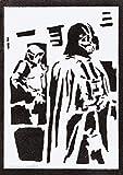 Darth Vader STAR WARS Poster Plakat Handmade Graffiti Street Art - Artwork