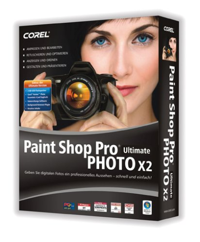 Paint Shop Pro Photo X2 Ultimate