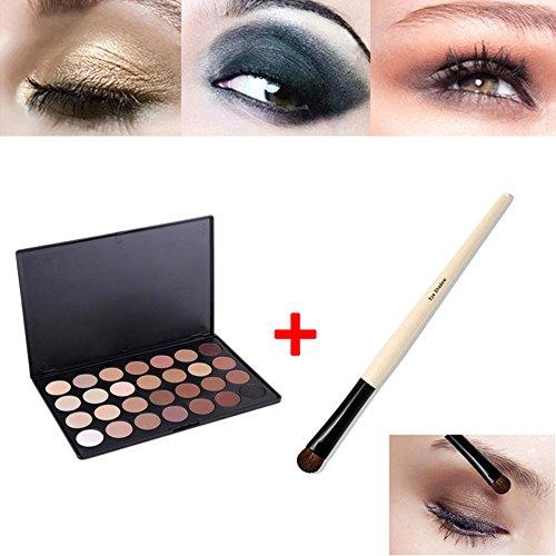 Hrph 28 Couleurs Kit Palette de Maquillage Neutre Eyeshadow Chaud EYESHADOW + Pinceau Eye Foundation Blending