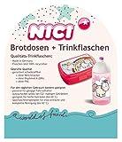 Nici 41801 Theodor und Friends Trinkflasche mit Einhorn, 19.5 cm - 3