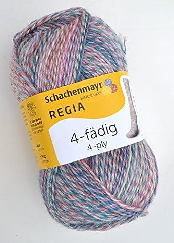 Schachenmayr Regia 4-fädig Color Fb. 2844, 50g Sockenwolle musterbildend