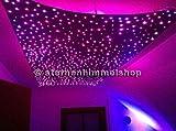 5 Watt Sternenhimmel LED Set Beleuchtung Delphi Star DIMMBAR mit Funkeleffekt NEU in Glasfaser Optik, 240 Lichtfasern 0,75mm, mit Sprühkleber zur Montage, einbaufertig