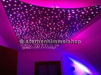 5 watt sternenhimmel led set beleuchtung power star in glasfaser optik 240 lichtfasern 0 75mm. Black Bedroom Furniture Sets. Home Design Ideas