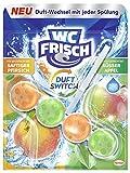 WC Frisch Duft Switch Saftiger Pfirsich Süßer Apfel, 10er Pack (10 x 50 g)