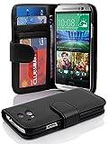HTC ONE M8 (2. Gen.) Hülle in SCHWARZ von Cadorabo -