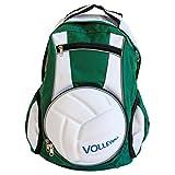 Diapolo - mochila profesional de voleibol,  bolso de deporte funcional., verde y blanco
