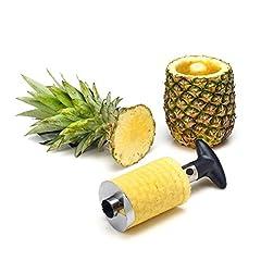 Idea Regalo - Statko® Acciaio Inossidabile Ananas affettatrice, Peeler Corer e - Oltre 500 recensioni Positive su Amazon.Com - USA Sito (7,6 cm)