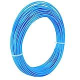 PLA 1.75mm Filament 5M Transparent Blue ...