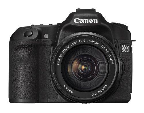 Canon EOS 50D SLR-Digitalkamera (15 Megapixel, Live-View) Kit inkl. EF-S 17-85 IS USM Objektiv (bildstabilisiert) -