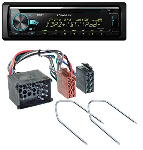 caraudio24 Pioneer DEH-X7800DAB DAB MP3 CD USB Bluetooth Autoradio für BMW (E36, 1990-2000) Bmw Power-antenne