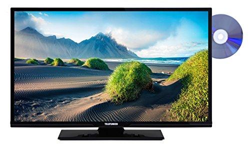 Telefunken XF32D101D 81 cm (32 Zoll) Fernseher (Full HD, Triple Tuner, DVD-Player) (32-zoll-hdtv Mit Dvd-player)