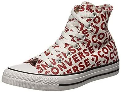 Converse Unisex's Enamel Red/White Sneakers-8 UK/India (41.5 EU) (8907788165759)