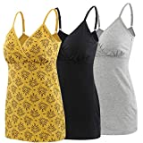 Pregnancy Breastfeeding Top, ZUMIY® Maternity Nursing Tank Tops Seamless Cotton Basic Vest Sleeping Breastfeeding Bra
