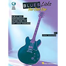 Blues Licks You Can Use: Softcover with CD (Guitar Educational) by John Ganapes (2008-01-18)