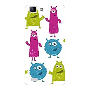 Garmor Designer Plastic Back Cover For OPPO R5