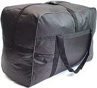 GoHopper Extra Large 160 Litres Lightweight Black Holdall Travel Cargo Storage Bag