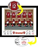 Arsenal Personalised Dressing Room Photo - Official Arsenal FC