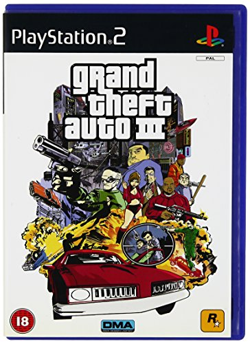 Rockstar Games Grand Theft Auto 3, PS2,