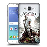 Head Case Designs Ufficiale Assassin's Creed Connor Ascia III Arte Chiave Cover Retro Rigida per Samsung Galaxy J5 / J500