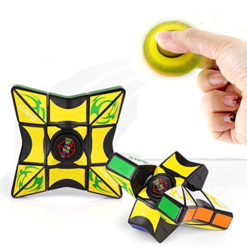 c6c1b3df1b66f5 Webla - Fidget Toy 1X3X3 Magic Cube Puzzle Spinner Training Focus Edc  Stress Relief Toy