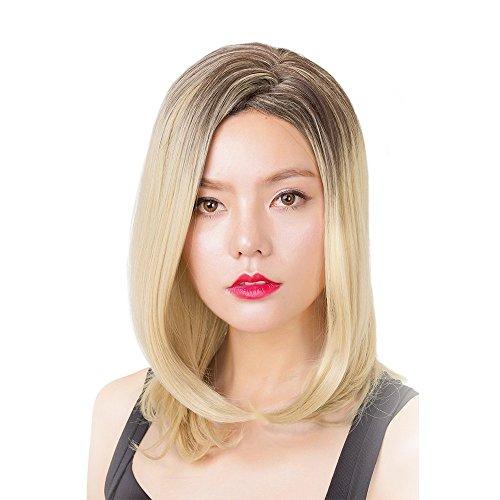 Perücke Lange Natürlich Aussehen wie Echtharr Fashion Cosplay für Frauen mit kostenlosen Perücke Kappe ()