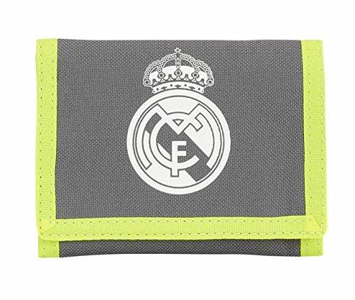 Real Madrid Geldbörse Klettverschluss Nylon Wallet in einer Auswahl von Designs und Farben