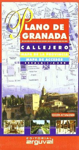 Plano de Granada (PLANOS Y GUÍAS CALLEJEROS) por Arguval