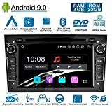 Ohok 7 Pollici Android 9.0 Pie Octa Core 4G+32G 2 Din In Dash Autoradio Schermo di Tocco Lettore DVD Navigatore GPS Con Bluetooth Per OPEL Vauxhall Astra Antara Vectra Corsa Zafira nero