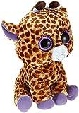 TY 7136801 - Safari Boo X-Large - Giraffe braun, 42 cm, Beanie Boos, Glubschis