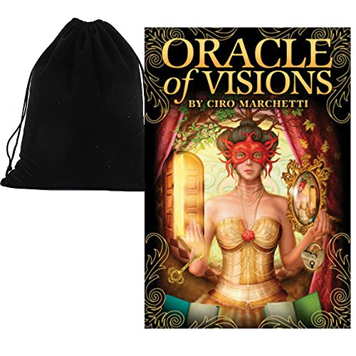 Shop4top Oracle Of Visions Karten Deck Und Beutel -