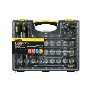 51ZIJV5bM%2BL. SS300  - Stanley 562572 FatMax - Juego de destornilladores con puntas variadas (20 unidades)