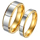 Best Aooaz Friends Unisex Rings - for Him and Her Couple Rings Wedding Promise Review