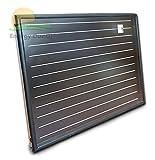 Pannello solare termico alta efficienza 2,5 mq orizzontale, circolazione forzata, alluminio rame, tubazione interna a meandro, acqua calda sanitaria