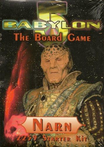 Babylon 5 the Board Game Narn Regime 2259 Starter Kit by Warner Bros. - Regime-kit