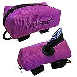 PupRepublic Dog Poo borsa, sacchetto di rifiuti dispenser fissaggio, leash, può contenere dolcetti, leggero per corsa, passeggiate, jogging
