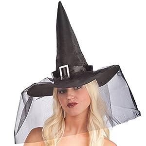 06103 Carnaval Juguetes - Sombrero de la bruja, 35 cm