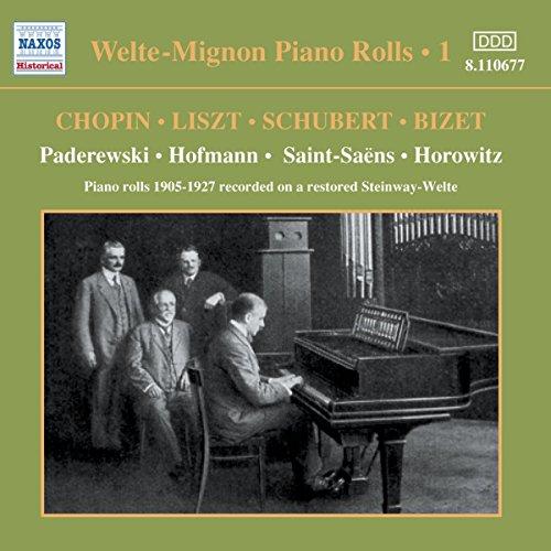 Welte-Mignon Piano Rolls Vol.1 -