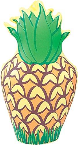 Bristol Novelty ij032aufblasbar Ananas Party Deko-Set, Gelb/Grün/Braun, One size