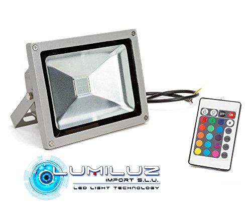Proyector Led 50W RGB 4500 Lúmenes efecto memoria