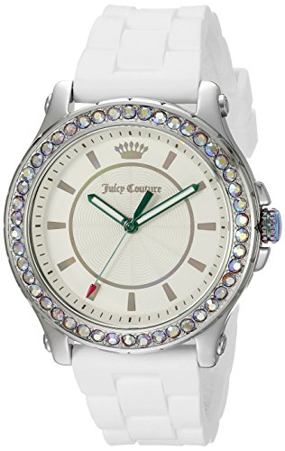 Juicy Couture – 1901337, display analogico al quarzo bianco orologio