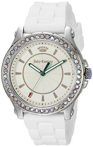 Juicy Couture–1901337, display analogico al quarzo bianco orologio