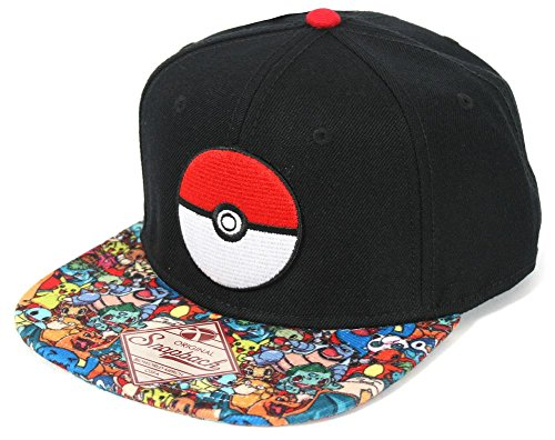 Pokemon-Pokeball-sublimada-Bill-gorra-sombrero