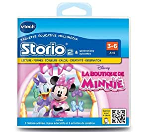 VTECH Jeu Storio 2 - La boutique de Minnie